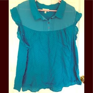 Gently used modcloth plus top